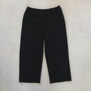 WORTHINGTON BLACK CURVY FIT SIZE 2 CROP PANTS